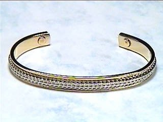 Silver Classic Cuff - Magnetic Therapy Bracelet (B-21) - DISCONTINUED
