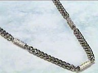 Silver Chains - Magnetic Necklace