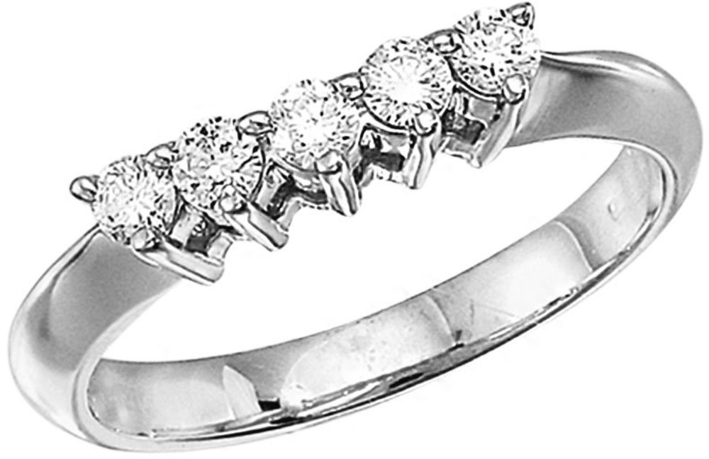 14k White Gold 0.33 Ct Diamond Wrap Band (CM-RM7327W)