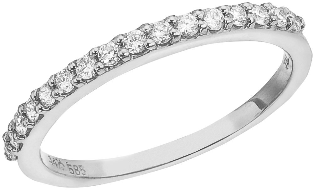 14K White Gold Diamond Diamond Band Ring (CM-RM8974W)
