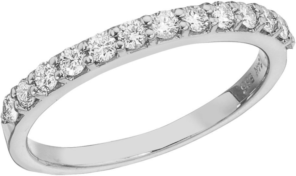 14K White Gold Diamond Diamond Band Ring (CM-RM8975W)