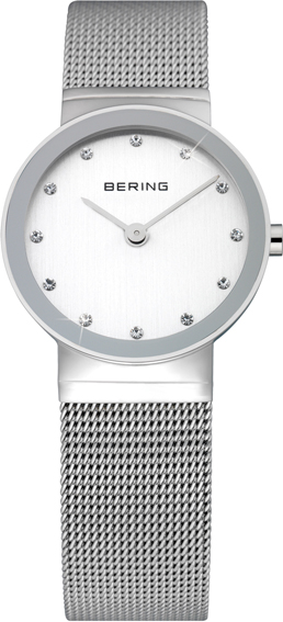 Bering Time - Classic - Ladies Silver Mesh Watch 10126-000 (Women's)