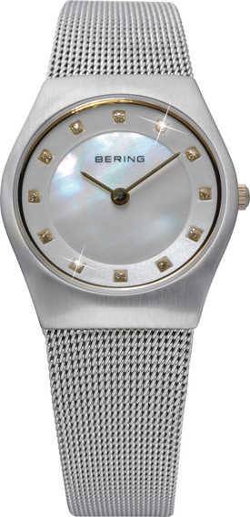 Bering Time - Classic - Ladies Silver Mesh Watch 11927-004 (Womens)