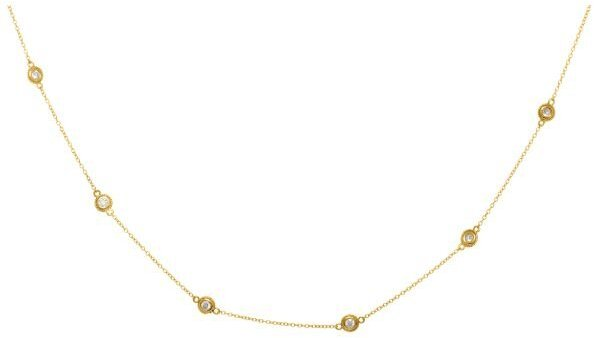 "18"" 14K Yellow Gold 0.25ctw Diamond Necklace (BTDGN319-18)"