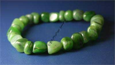 Jade Nugget Power Beads Bracelet (0322-4)