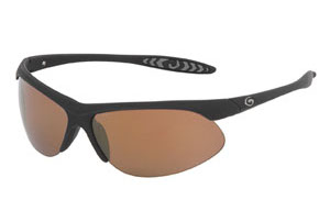 Gargoyles Sunglasses - Firewall Black with Copper Lens - Instinct Collection - DISCONTINUED