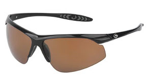 Gargoyles Sunglasses - Striker Black with Copper Lens - Instinct Collection - DISCONTINUED