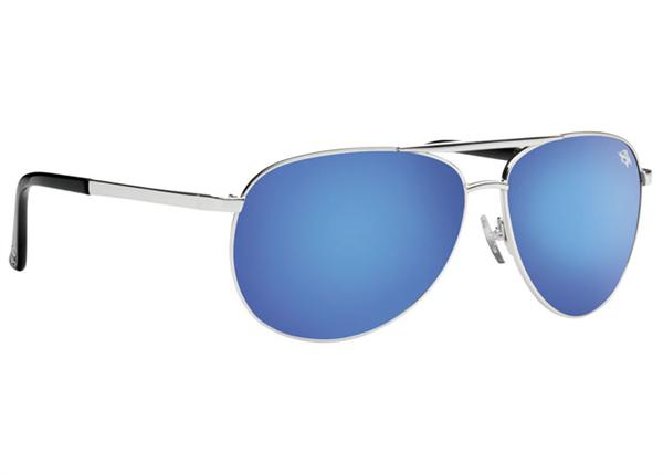 Anarchy Sunglasses - Prime Silver with Blue Mirror - DISCONTINUED