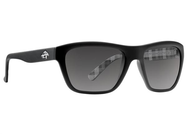 Anarchy Sunglasses - Status Black and White Plaid - DISCONTINUED
