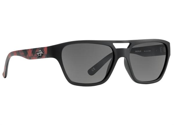 Anarchy Sunglasses - Swindler Red Plaid - DISCONTINUED