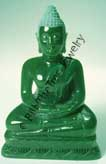 "Jade 3"" Thai Buddha Figurine (HNW-131) - DISCONTINUED"