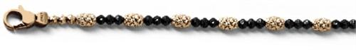Officina Bernardi - Gothic Mars Collection - Bracelet 1759B4BPK - Italian 925 Sterling Silver