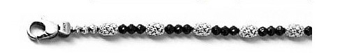 Officina Bernardi - Gothic Mars Collection - Bracelet (4 Color Choice) - Italian 925 Sterling Silver