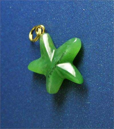 Jade Starfish Pendant (2084-1) - DISCONTINUED