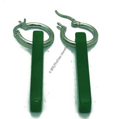 Polar Jade Earrings (2106-K)