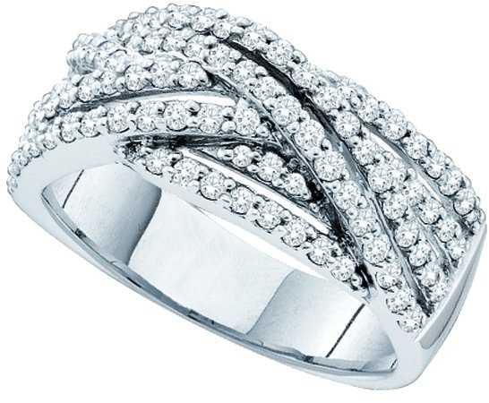 0.88ctw Diamond Fashion Band 14K White Gold
