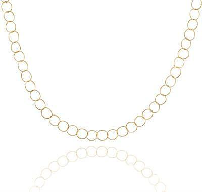 "16"" 14/20 Gold Filled Twist Link Necklace - DISCONTINUED"