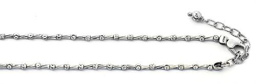 Officina Bernardi - Tube Collection - Necklace (6 Color Choice) - Italian 925 Sterling Silver