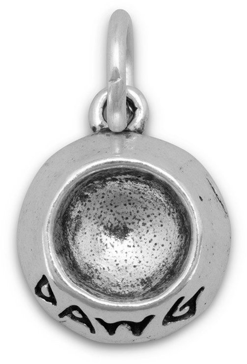 DAWG Bowl Charm 925 Sterling Silver