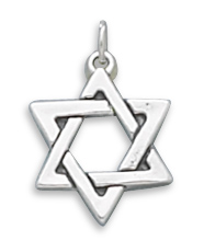 Star of David Charm 925 Sterling Silver - DISCONTINUED