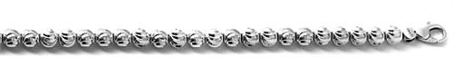 Officina Bernardi - Moon Collection - Bracelet 68B6 - Italian 925 Sterling Silver