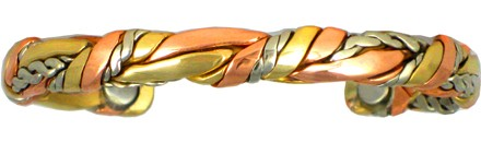 Ancestors - Sergio Lub Copper Magnetic Therapy Bracelet - Made in USA! (lub717) - DISCONTINUED