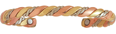 Sherpa's Rope- Copper Magnetic Therapy Bracelet - Made in USA!