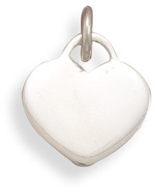 Engravable Heart Pendant 925 Sterling Silver