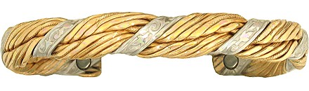 Minoan Goddess - Sergio Lub Copper Magnetic Therapy Bracelet - Made in USA! (lub779) - DISCONTINUED