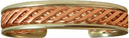 Celtic - Sergio Lub Copper Magnetic Therapy Bracelet - Made in USA! (lub793)