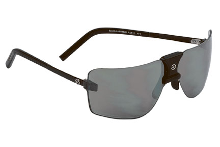Gargoyles Sunglasses - ANSI 85's Black with Grey Flash Silver Lens - Classic Collection - DISCONTINUED