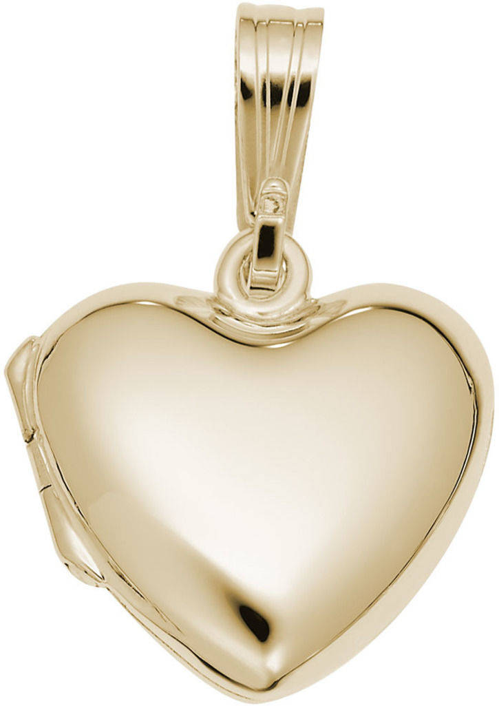 Locket Charm (Choose Metal) by Rembrandt