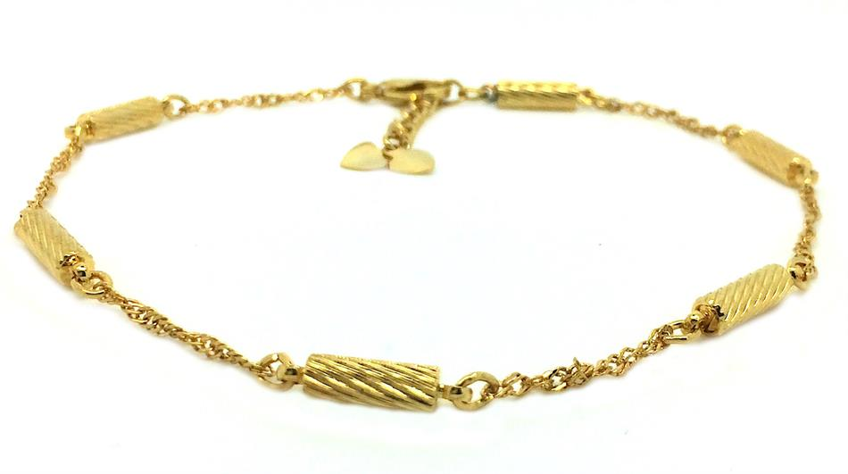 Braids - Magnetic Therapy Anklet (A-1300)