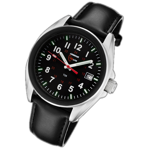 ArmourLite Tritium Watch - Captain Field Series Leather AL503-LBL - DISCONTINUED