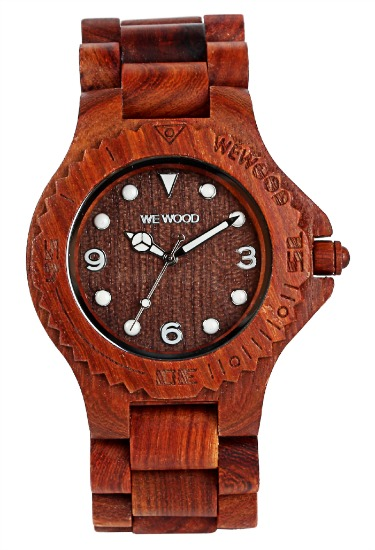 WeWood Wooden Watch - Aludra Brown - DISCONTINUED