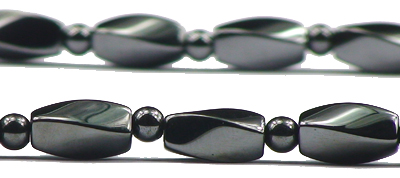 Hematite Pebbles - Magnetic Therapy Necklace (AM401NL18)