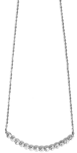 "Officina Bernardi - Astro Collection - 16"" Necklace (4 Color Choice) - Italian 925 Sterling Silver"