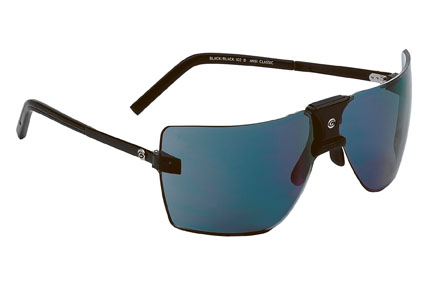 Gargoyles Sunglasses - ANSI Classic Black with Black Ice Lens - Classic Collection - DISCONTINUED