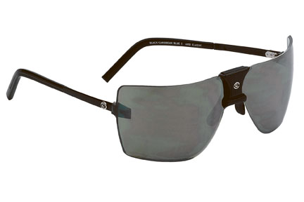 Gargoyles Sunglasses - ANSI Classic Black with Grey Flash Silver Lens - Classic Collection - DISCONTINUED