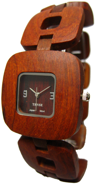 Tense Wooden Watch - Women's Retro Sandalwood Watch - DISCONTINUED