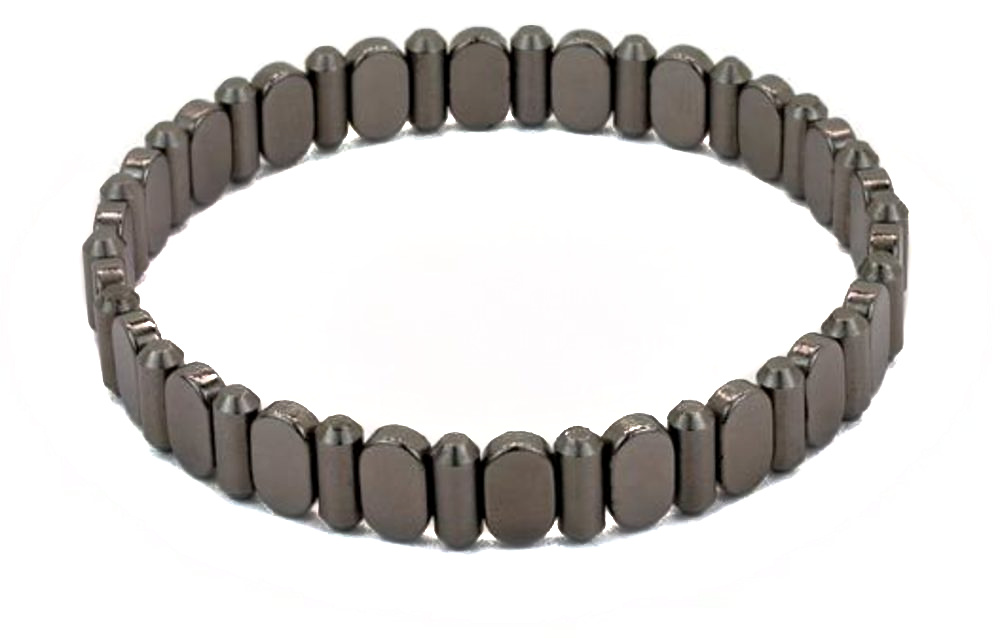 Spikes & Surfboards BT001-2 - Magnetic Bracelet - Claspless Design by L Michaels