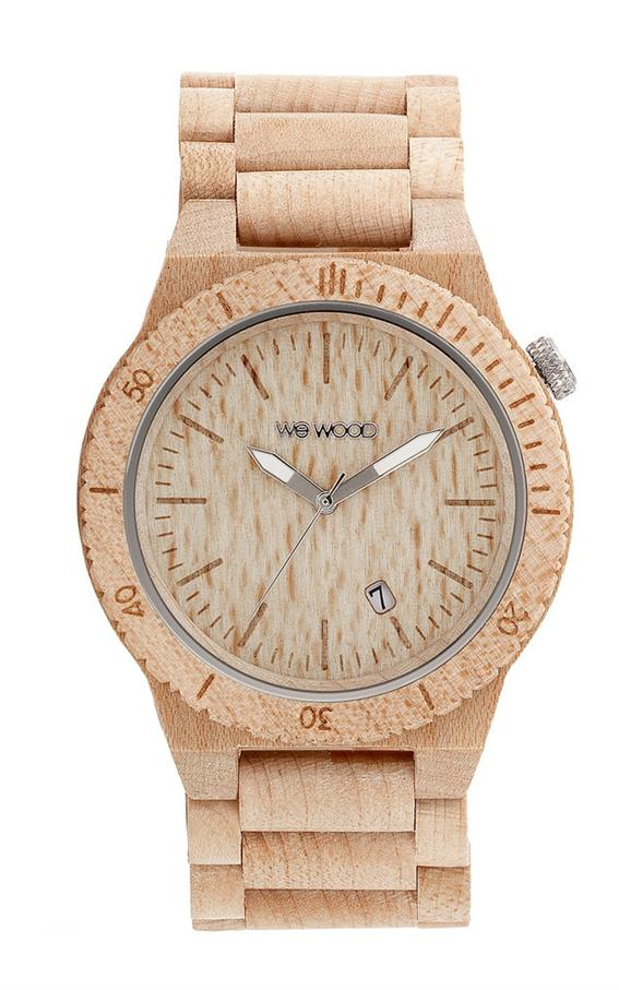 WeWood Wooden Watch - Beta Beige (wwoodbbg)