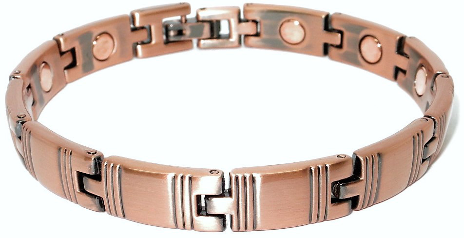 Copper Mystery - Magnetic Therapy Bracelet or Anklet (CL-15)