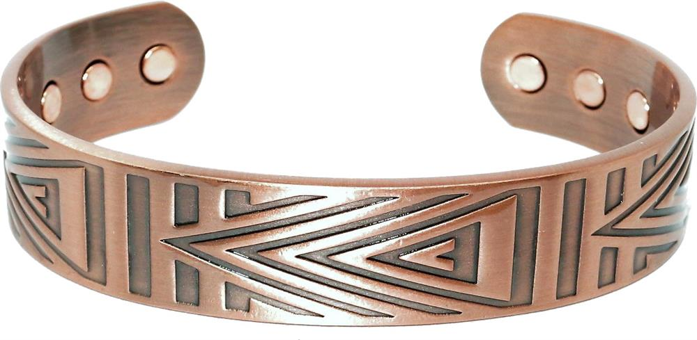 """Elation"" - Solid Copper Magnetic Therapy Bracelet"