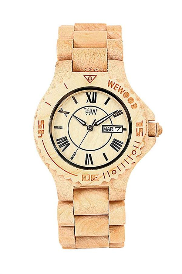 WeWood Wooden Watch - Roman Beige (wwood03p) - DISCONTINUED