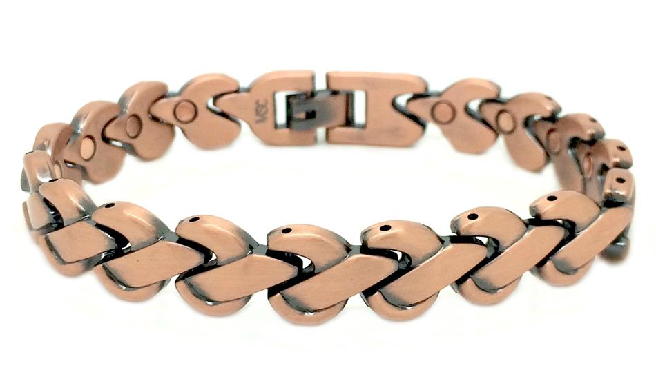 Knotted Copper - Magnetic Therapy Bracelet (CLX-1)