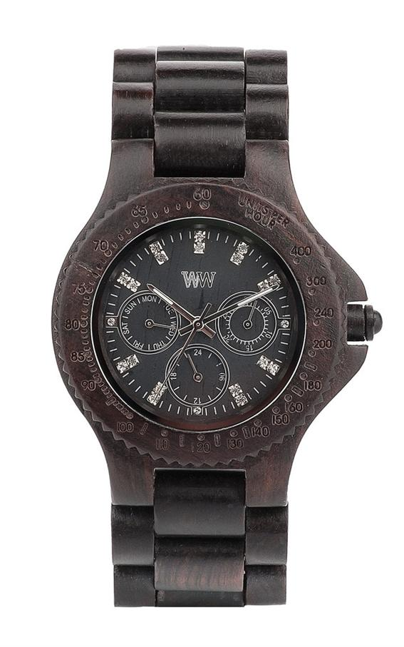 WeWood Wooden Watch - Cygnus Black (wwoodcybl) - LIMITED STOCK