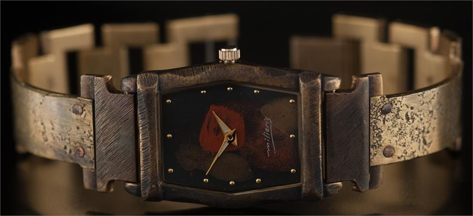 Montevideo - WatchCraft (R) Handmade Watch (DNM1)
