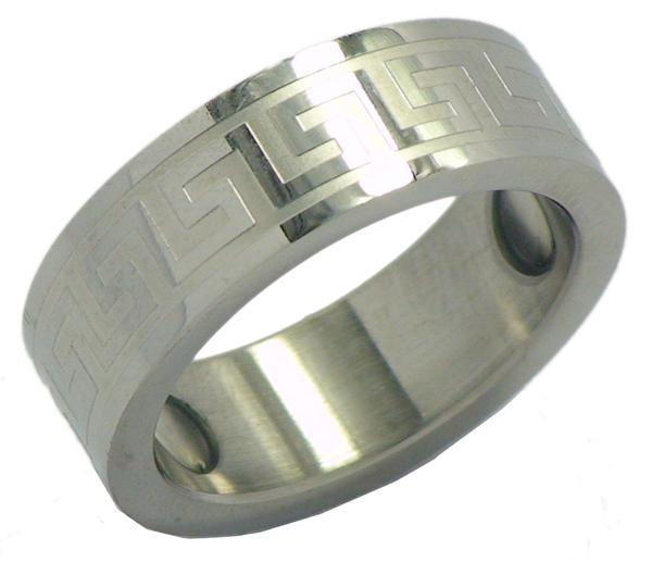 Stainless Steel Magnetic Therapy Ring (SR1) - New!