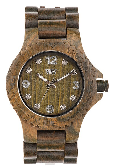 WeWood Wooden Watch - Deneb Army - DISCONTINUED